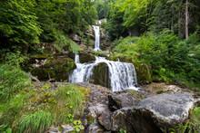 Giessbachfall Near Brienz In Switzerland
