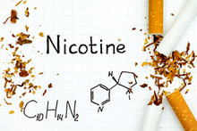 Chemical Formula Of Nicotine W...