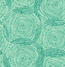 Green Seamless Spiral Pattern....
