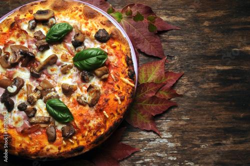 Spoed Foto op Canvas Pizzeria 170126382