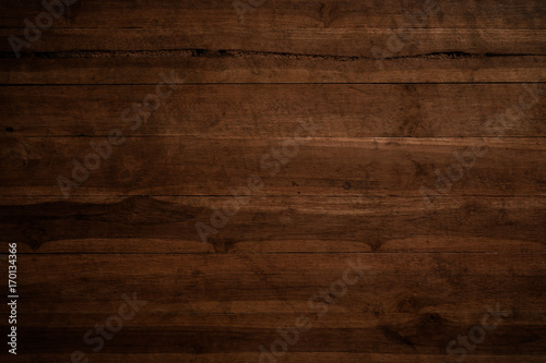 Fotobehang Hout Old grunge dark textured wooden background,The surface of the old brown wood texture