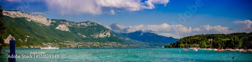 Panorama du lac d'Annecy Fototapeta
