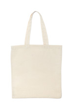 Beige Cotton Bag Isolated On W...