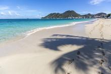 Scenery From Saint Martin, Caribbean Island