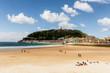 Playa de la concha de San Sebastian