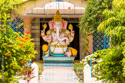 Photo Ganesh statue, Puttaparthi, Andhra Pradesh, India