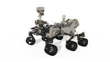 Mars Rover, Space Vehicle Isol...