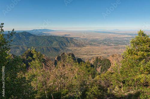 Photo View from the Sandias
