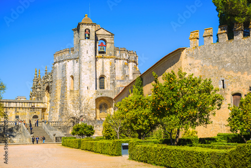 Fényképezés The Monastery of the Order of Christ is the main attraction of the city of Tomar