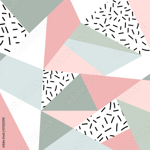 Abstract geometric pattern or background Tableau sur Toile