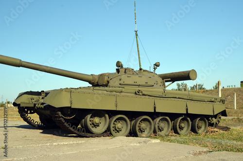 Photo  Old tank