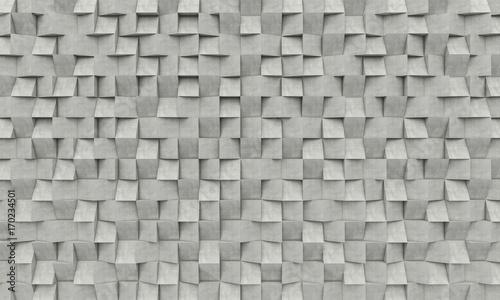 3d concrete geometric background © tiero