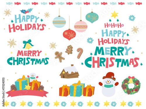 クリスマス かわいい デザイン イラスト Adobe Stock でこのストック