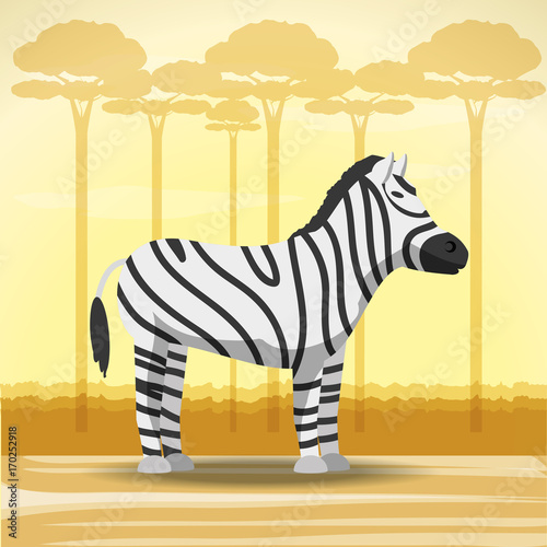 zebra-icon-over-africa-jungles
