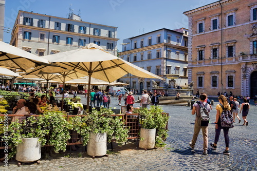 Foto op Aluminium Rome Rom, Piazza Santa Maria