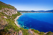 bay near agios georgios, corfu island, greece