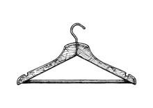 Illustration Of Coat Hanger