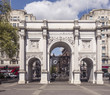 Marble Arch is a 19th-century white marble faced triumphal arch in London