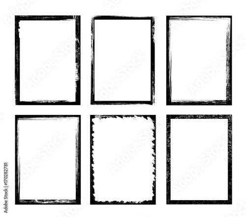 fototapeta na ścianę Grunge frame - stock vector.