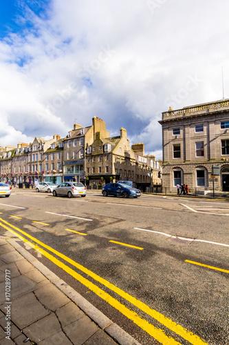 Photo Aberdeen, a city in Scotland, Great Britain