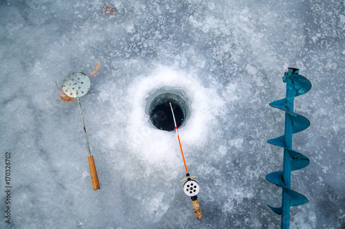 hole, ice pick, wodecka