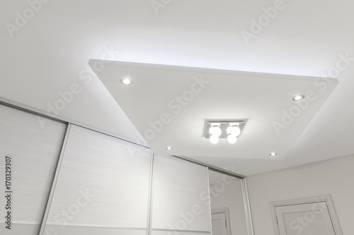 Tableau sur Toile decorative ceiling with lighting