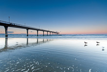 Sunset At New Brighton Beach V...