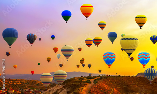 hot air ballons flight