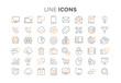 Icônes ligne