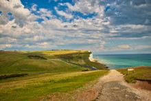 View Of The Seven Sisters And ...