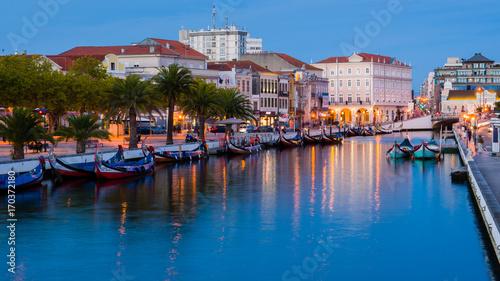 Photo Central Canal of the Ria de Aveiro
