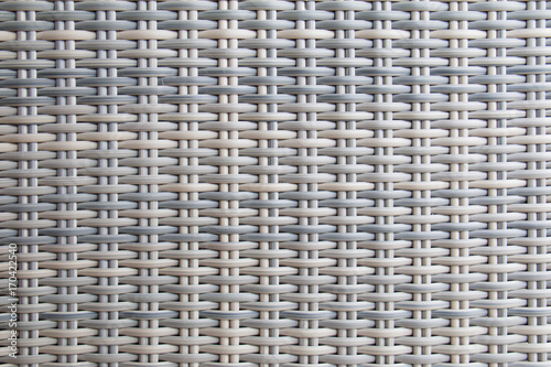 Obraz Background and texture of wicker by fake reed. - fototapety do salonu