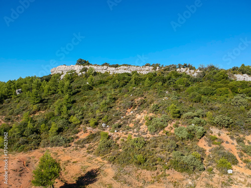 Fotografía Paysage de garrigue dans le sud de la France