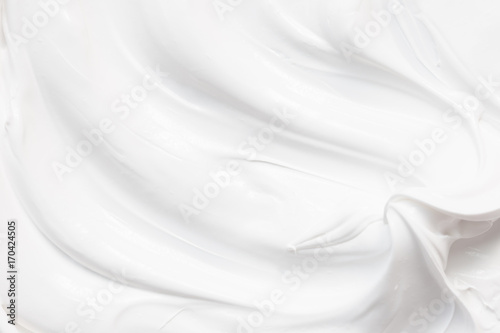 Photo White texture of cream background