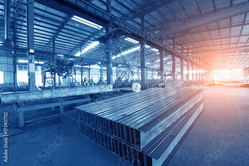 Poster Aeroport Steel production at the metallurgical plant