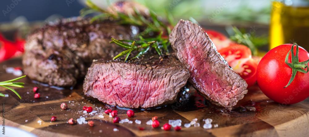Fototapety, obrazy: Steak (Rindfleisch)