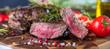 Leinwanddruck Bild - Steak (Rindfleisch)