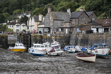 Porlock Weir Low Tide
