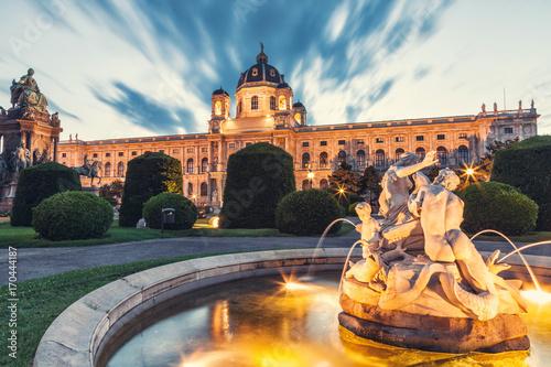 Zdjęcie XXL Muzeum historii naturalnej Wiedeń Austria