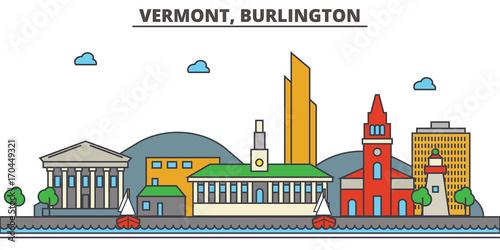 Obraz na plátně  Vermont, Burlington