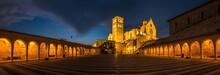 Italy Beauty, Basilica Of Saint Francis Of Assisi, Assisi, Umbria