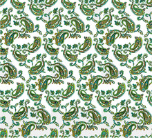 Paisley Pattern For Textile An...