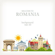 Romania Panoramic Background A...