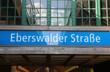Berlin Metropolitan Station Name