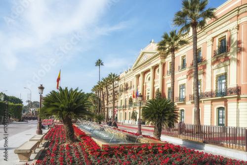 Town Hall of Murcia (Palacio Episcopal). Spain.