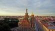 Aerial view of St Petersburg, Russia