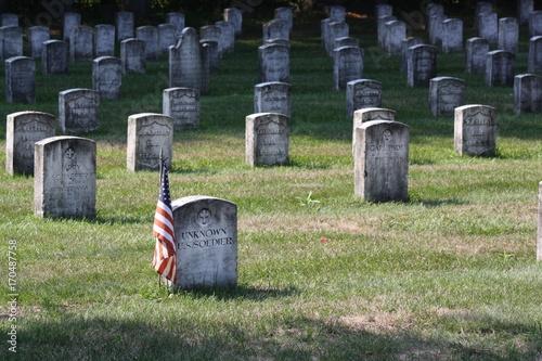 Keuken foto achterwand Begraafplaats Veteran Cemetary