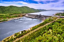 Hydroelectric Power Station In...