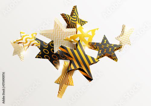 Plakat Złote gwiazdy