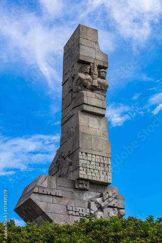 Westerplatte bei Danzig